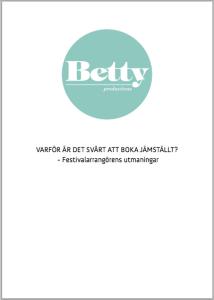 Pilotstudie Betty Productions