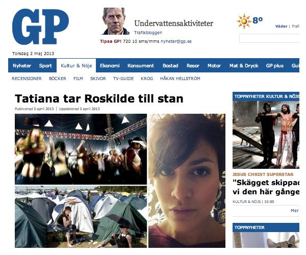 Intervju Tatiana Madrid GP Roskilde Road Trip